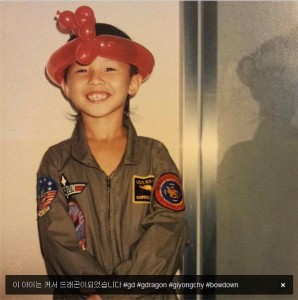 G-Dragon quando criança